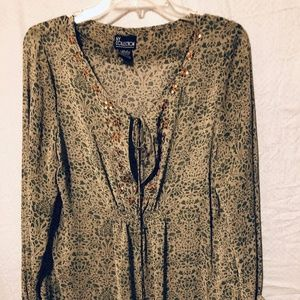 Tunic Top by NY Collection size L